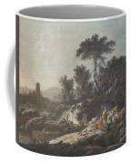 Shepherds Resting By A Stream Coffee Mug