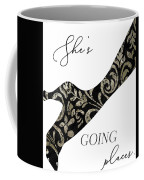 She's Going Places. Coffee Mug