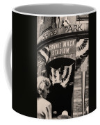 Shibe Park - Connie Mack Stadium Coffee Mug by Bill Cannon