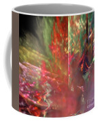 Shimmer Leaves Coffee Mug