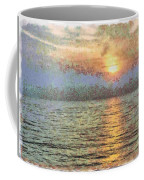 Shimmering Light Over The Water Coffee Mug