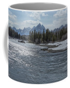 Shimmering Snake River And The Tetons Coffee Mug