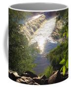 Shimmering Sun Rays On Colorado Springs Coffee Mug