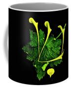 Shin - First Hebrew Letter Of Shalom Coffee Mug