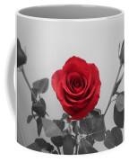 Shining Red Rose Coffee Mug