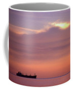 Ship At Sea Two Coffee Mug