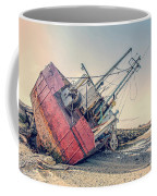 Shipwreck Provincetown Breakwater Coffee Mug