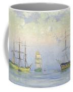 Shipping At Anchor Coffee Mug