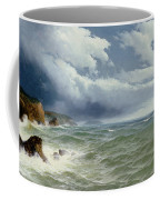 Shipping In Open Seas Coffee Mug by David James