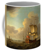 Shipping In The Thames Estuary Coffee Mug