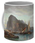 Shipping Off Gibraltar, 1880 Coffee Mug