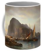 Shipping Off Gibraltar Coffee Mug