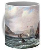Shipping Off Newhaven Harbour Coffee Mug
