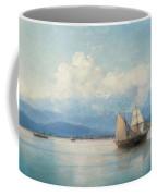 Ships Before The Caucasian Coast Coffee Mug