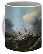 Ships In A Storm Coffee Mug