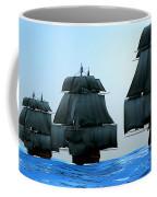 Ships In Sail Coffee Mug