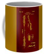 Shock Absorber Patent Drawing 2f Coffee Mug