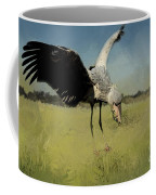 Shoebill Landing Coffee Mug