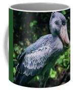 Shoebill Stork Side Portrait Coffee Mug