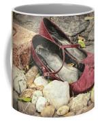 Shoes At The Makeshift Memorial Coffee Mug