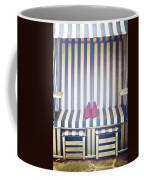Shoes In A Beach Chair Coffee Mug