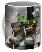 Shoes On A Montevideo Street Coffee Mug