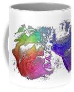 Shoot For The Sky Cool Rainbow 3 Dimensional Coffee Mug