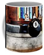 Shooting For The Eight Ball Coffee Mug