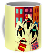 Shopping Sheep Divas Coffee Mug