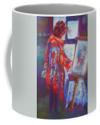 Shopping The Art Fair Coffee Mug