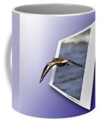 Shore Bird In Flight Coffee Mug
