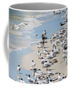 Shorebird Gathering Coffee Mug