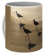 Shorebird Silhouettes Coffee Mug