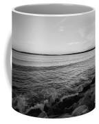 Shoreline Of Jamestown At Dusk Coffee Mug