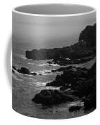 Shoreline - Portland, Maine Bw Coffee Mug