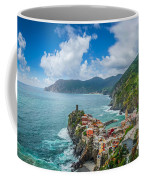 Shores Of Cinque Terre Coffee Mug