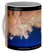 Shores Of Lake Mead Planet Art Coffee Mug
