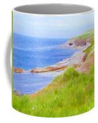 Shores Of Newfoundland Coffee Mug by Jeff Kolker