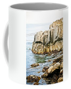 Shores Of Pebble Beach Coffee Mug
