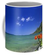 Shorline With Flower Coffee Mug