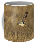 Short-eared Owl With Vole Coffee Mug