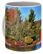 Shoul Point Lighthouse - Old Forge Coffee Mug