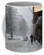 Shoveling Snow Coffee Mug
