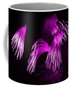 Showers Of Pink Color Splash With Firework  Coffee Mug