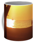 Shrimp Boats And Love  Coffee Mug