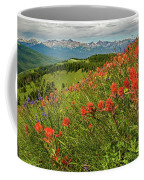 Shrine Pass Wildflowers Coffee Mug