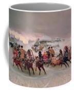 Shrovetide Coffee Mug by Petr Nicolaevich Gruzinsky