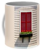 Shutter And Flowers Coffee Mug