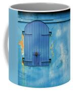 Shuttered Blue Coffee Mug