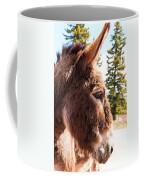 Shy Burro In Cripple Creek Coffee Mug